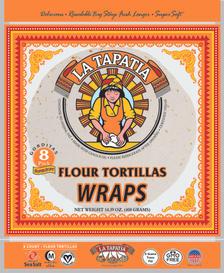 """8"""" Flour Tortilla Wraps"""