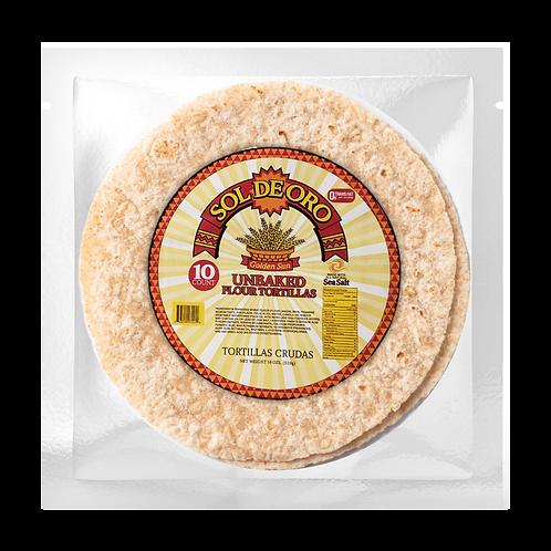 """(Store) 10253 L.T. Unbaked Flour 8"""" 10 ct."""
