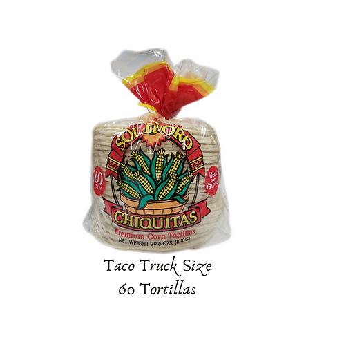 Chiquitas White Corn Tortillas