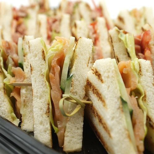 Мини-сэндвичи с рыбой