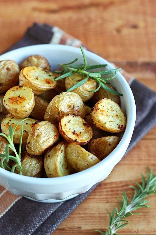 Мини-картофель, запеченный с розмарином