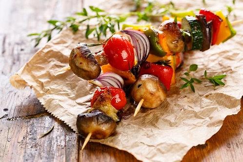 Мини-шашлычки овощные