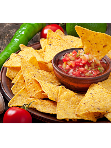 Pefect for dipping into your favorite salsa.