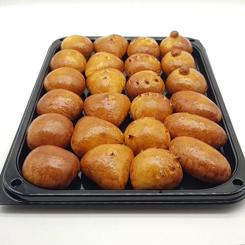 Мини-пирожки с мясными начинками