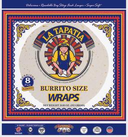 """10"""" Burrito Size Wraps"""