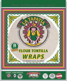"""6"""" Flour Tortilla Wraps"""