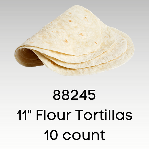 """11"""" Flour Tortillas"""