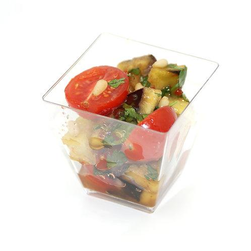 Острый салат из баклажанов с помидорами  по-тайски