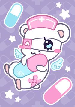 Menhama the Nurse Hamster