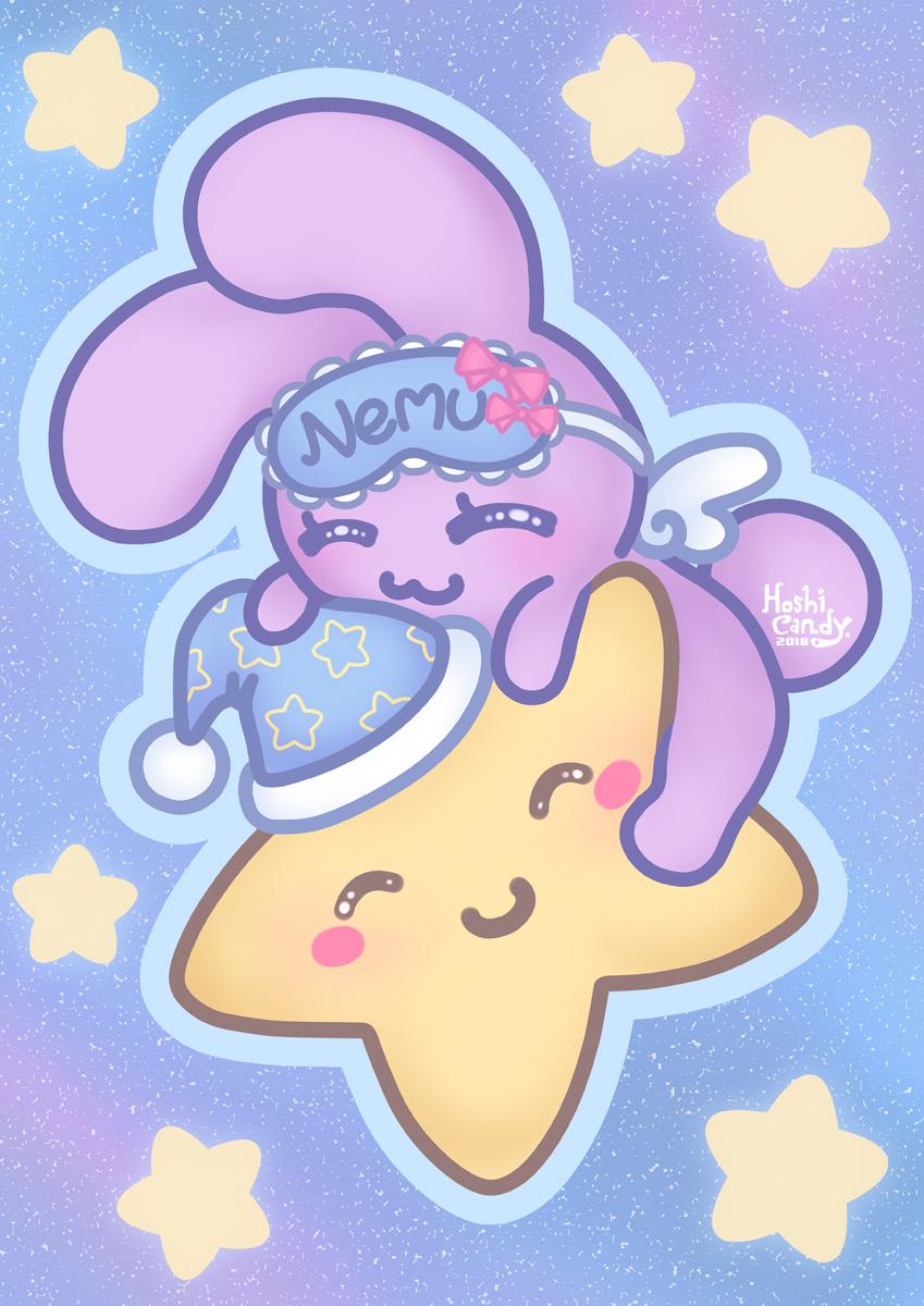 Nemui Bunny on Star