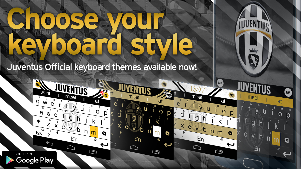 Juventus Official Keyboard Themes Ad
