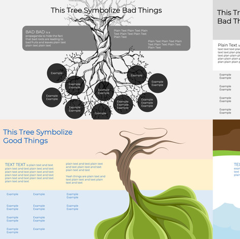 Client strategy presentation - Tree Diagrams