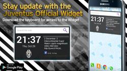Juventus Official Widget Ad