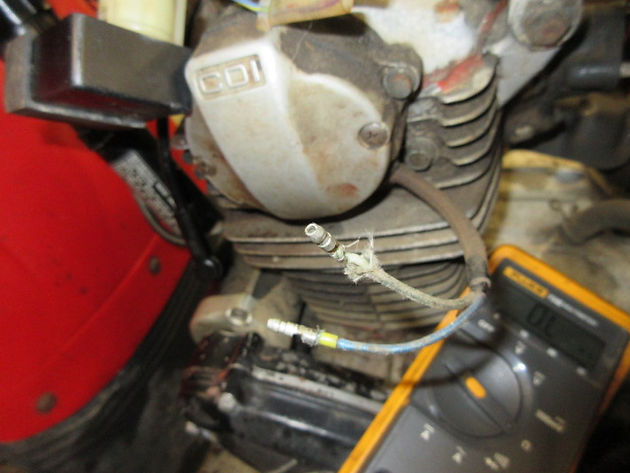 No Spark Troubleshooting 1984 Honda BIG RED 200ES