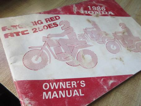 Fun BIG RED Owners Manual Tips