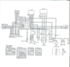 1982 Honda 200E BIG RED Wiring Diagram