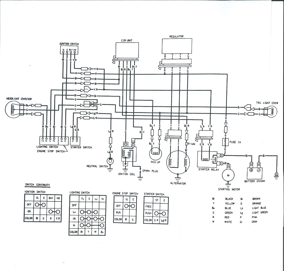 DIAGRAM] Honda 40e Wiring Diagram FULL Version HD Quality Wiring ...