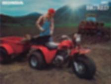 1982 Honda 200E brochure