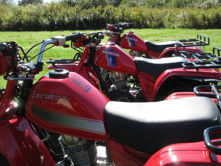 Differences Between the 1982 and 1983 Honda BIG RED 200E Three Wheelers