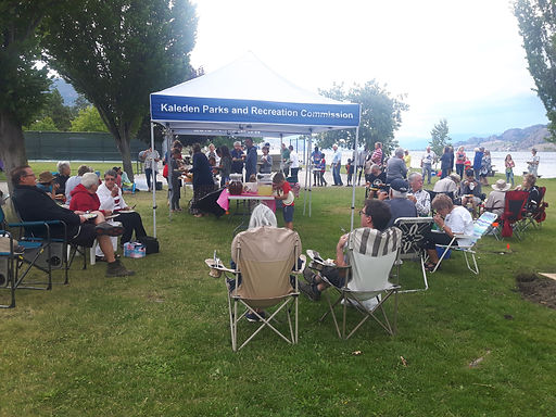 Kaleden Party in the Park, hosted by the Kaleden Seniors Committee