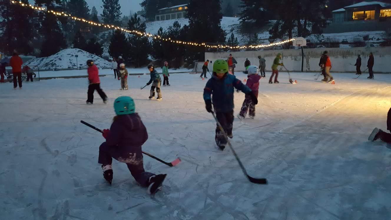 Skating in Kaleden