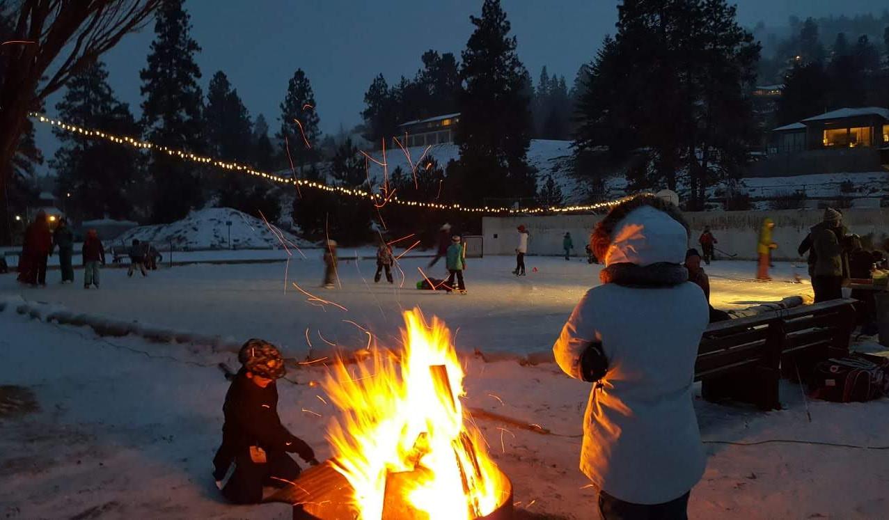 Kaleden ice rink