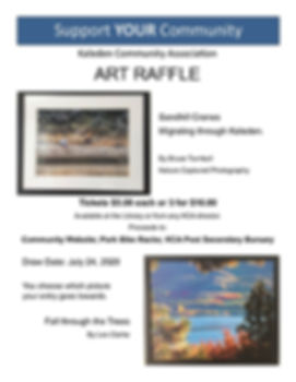 Art Raffle 2020 with date extension