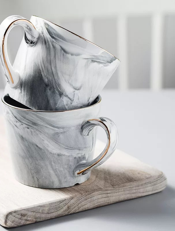 CoHee Noble Marble Mug