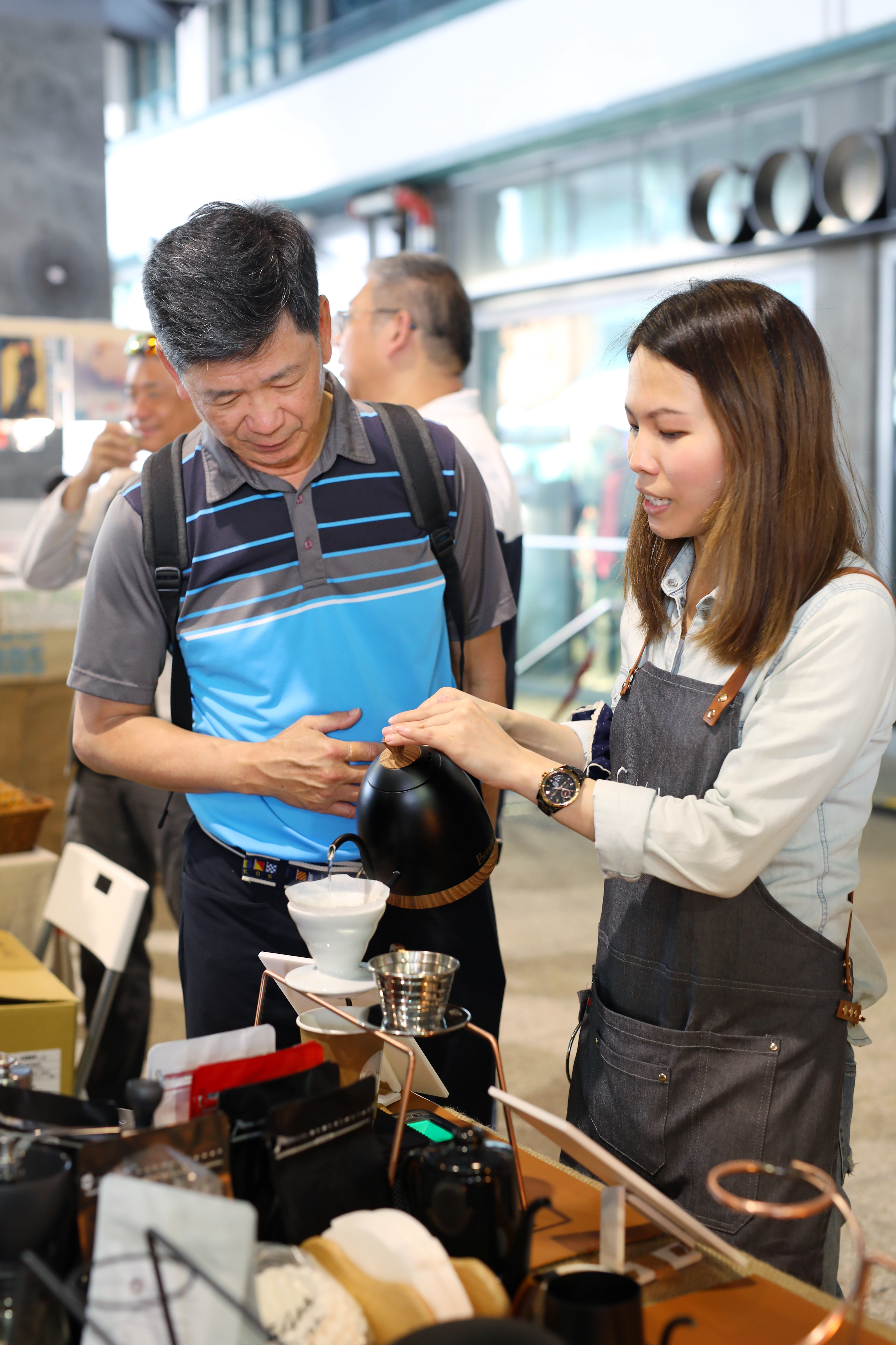 Introducing coffee bean processing