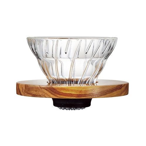 Hario V60 Dripper Olive Wood