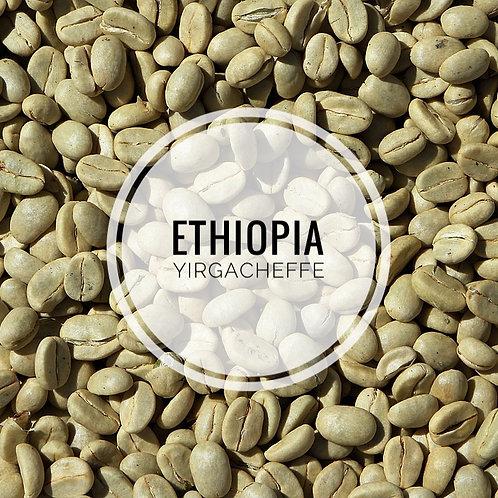 Ethiopia Yirgacheffe Green Bean