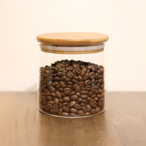 CoHee Glass Bean Container