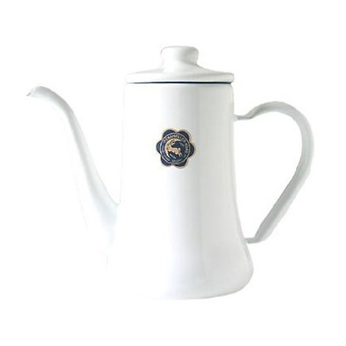 Enamel Moon Rabbit Mark Slim Pot 0.7L
