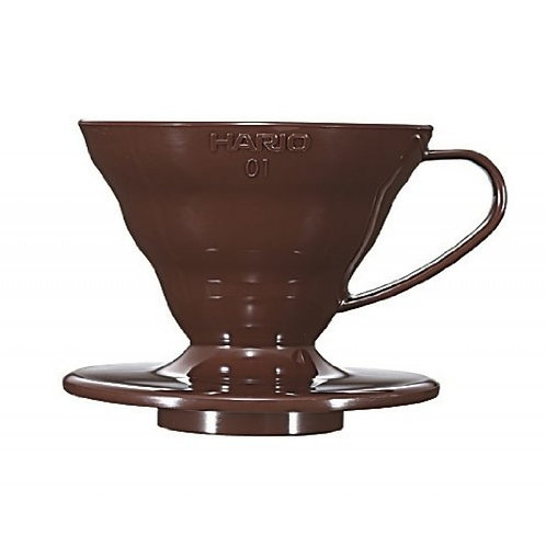 Hario V60 Plastic Dripper (Brown)