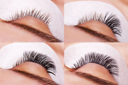 APPLICATION OF EYELASH EXTENSION (Lash to lash and Russian volume)