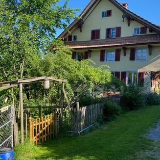 Haus und Garten von Südosten