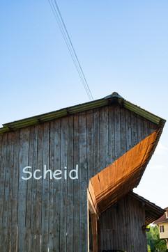 Einfahrt Scheid, Frau Holles Paradies