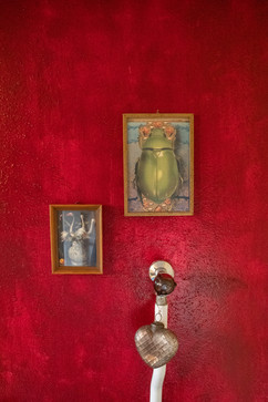 Gertrud separate Toilette