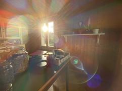 Lichtertanz im Arbeitszimmer