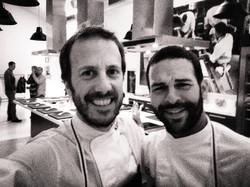 Con el gran Carlos Pascal