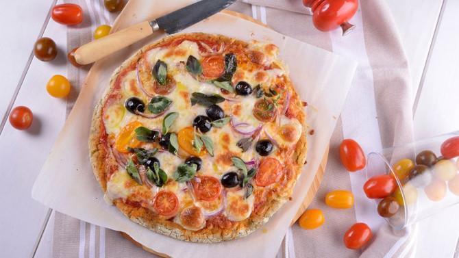 Pizza sin gluten apta para todo el mundo