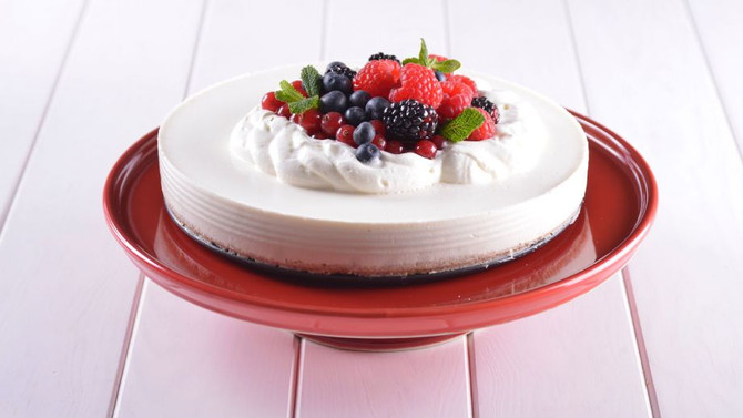 Cheesecake light (sin horno)