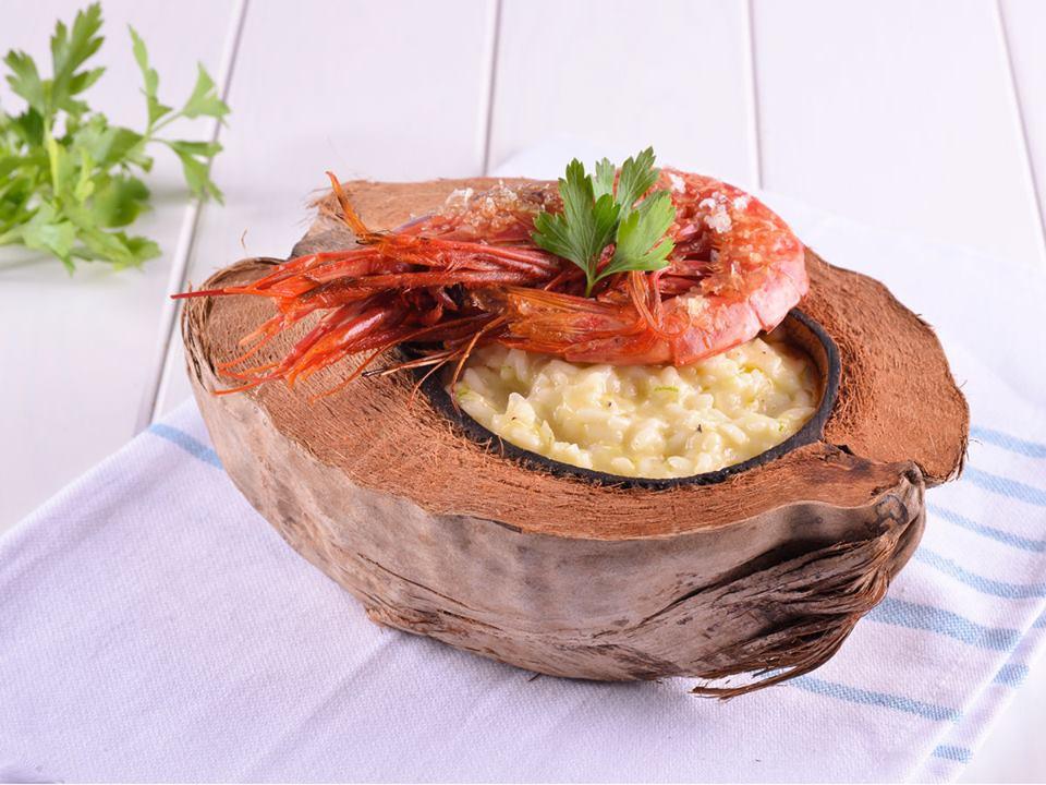 Haz click aquí para la receta de este Risotto de coco