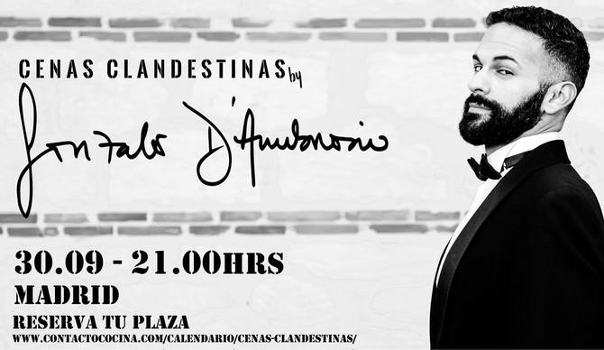 Cena Clandestina única en Madrid. 30 SEPTIEMBRE. Plazas limitadas. Reserva tu sitio!