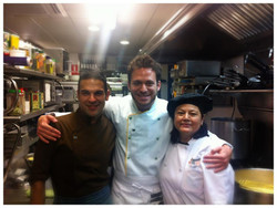 Con el Chef Dalton Nery y Betty