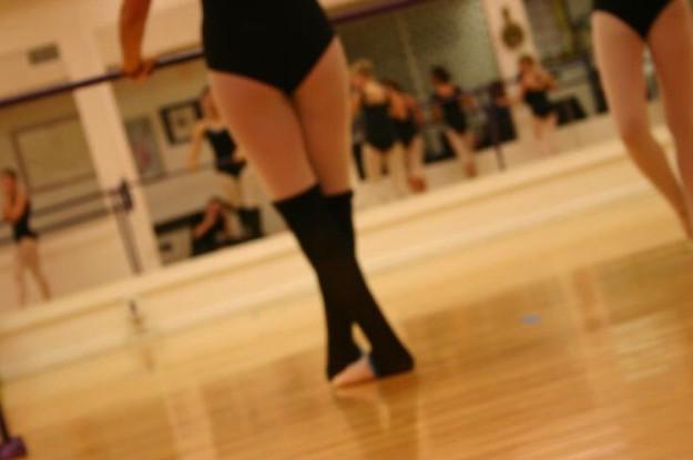 Ballet class 2010