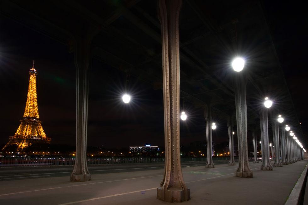copyright Tour Eiffel – illuminations Pierre Bideau