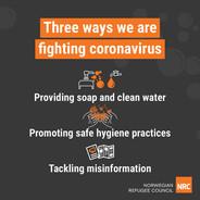 Three ways we are fighting coronavirus