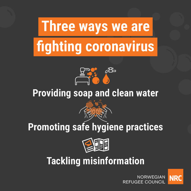 Three ways we are fighting coronavirus