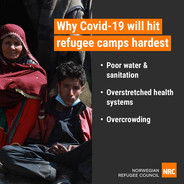 Why Covid-19 will hit refugee camps hardest